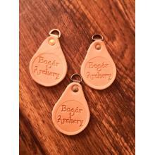 Leather key ring Bogar Archery